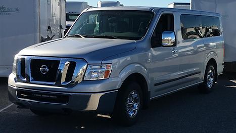 Los Angeles Production Passenger Van Rental 12 Passengers WheelhouseLA Production Motorhome Rental Company