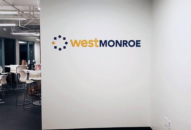 Lobby Signs - West Monroe Part 2 - DN SI