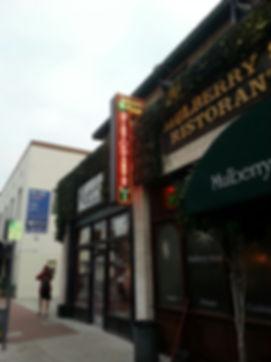 Mulberry Street Ristorante - Neon Blade