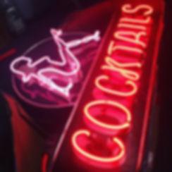 Cocktails - Neon Sign Repair - Designer