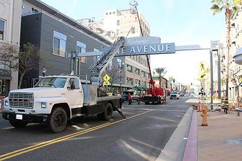 Pine Avenue - Installation - DN Signs.jp