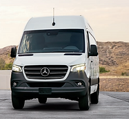 Mercedes Sprinter Van with Mountain Back