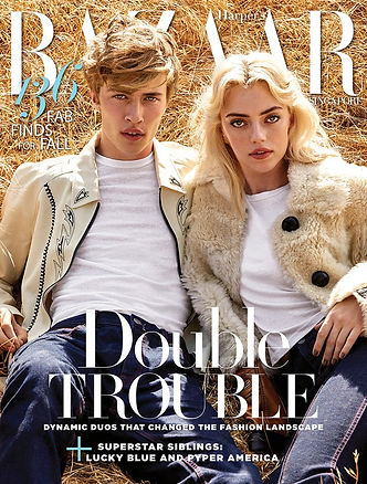 HARPERS-BAZAAR Double Trouble SINGAPORE Photo Shoot Production Motorhome Rental Los Angeles