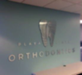 Lobby Signs - Playa Vista Orthodontics -