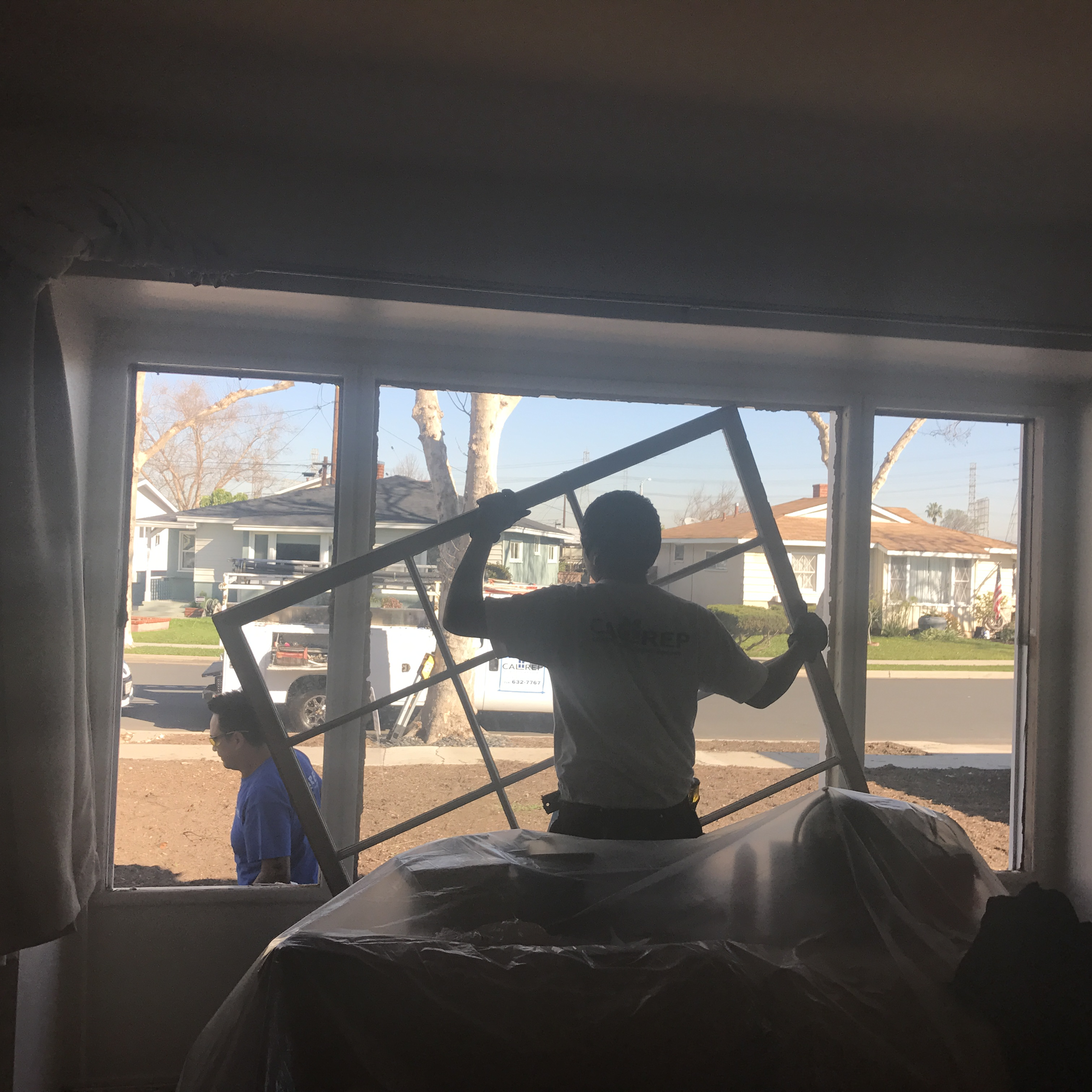 Window Removal - Exciting!