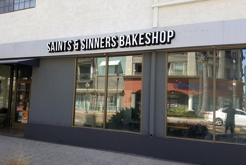 Saints & Sinners - Channel letter - DN S
