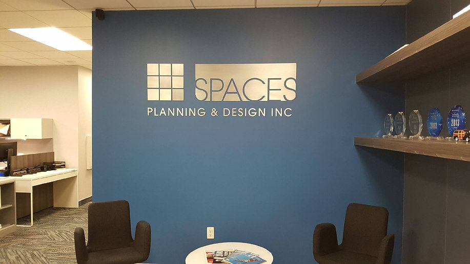 Lobby Signs - SPACES Planning & Design,