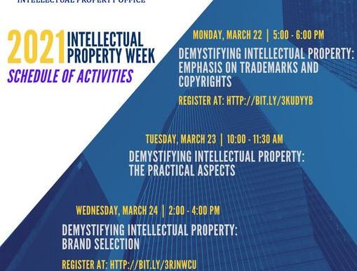 2021 INTELLECTUAL PROPERTY WEEK