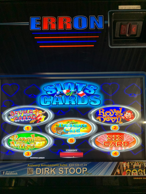 Erron Slots of Cards  - 5 games - Afb. 3