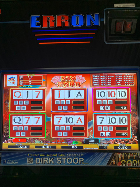 Erron Slots of Cards  - 5 games - Afb. 8