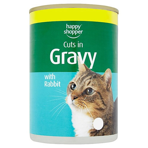 Happy Shopper Cuts in Gravy with Rabbit
