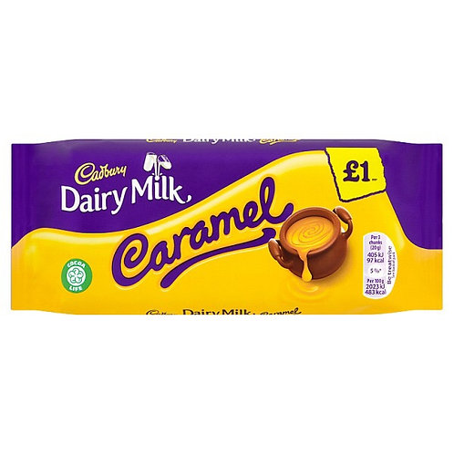 Cadbury Caramel Chocolate Bar