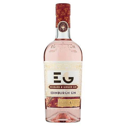 Edinburgh Gin Rhubarb/Ginger 70cl