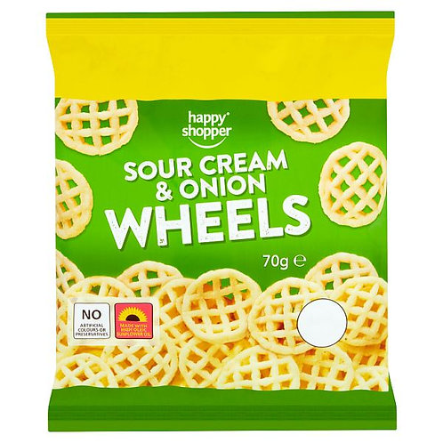 Hs Sour Cream & Onion Wheels
