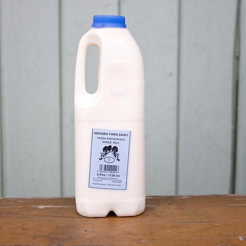 Hinxden Whole Milk 1 Litre