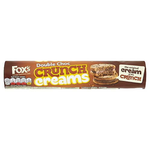 Fox's Double Chocolate Crunch Creams