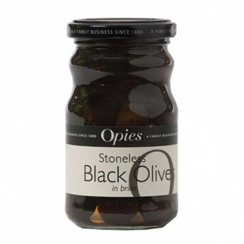 Opies Black Olives 227G