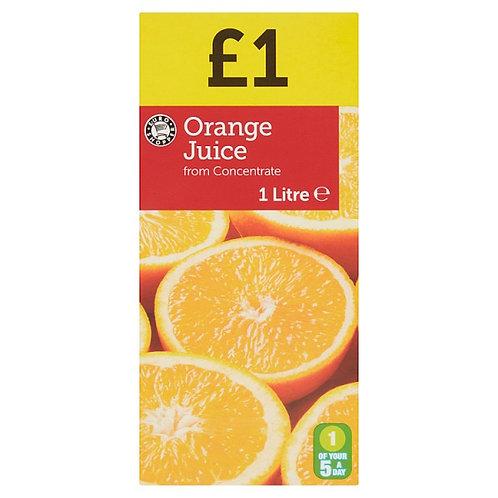 Euro Shopper Orange Juice