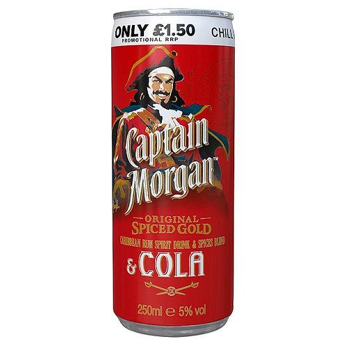 Capt Morgan & Cola
