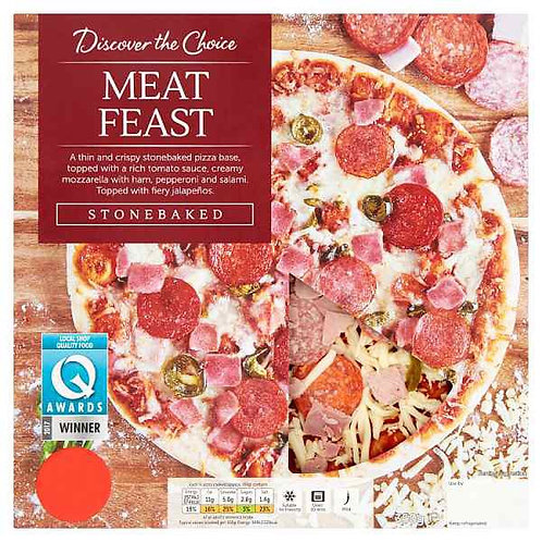 Discover the Choice Meat Feast Pizza