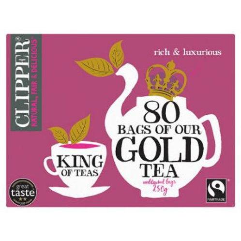 Clipper Gold Blend Tea 80 Bags