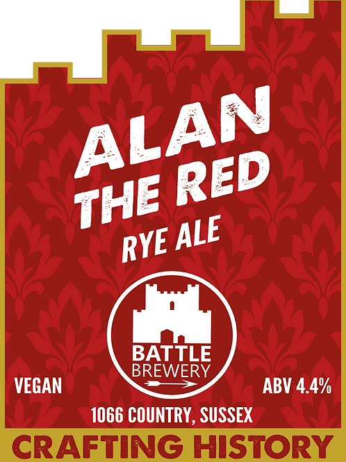 Alan the Red Rye Ale (Battle Brewery)