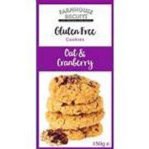 Farmhouse Gluten Free Oat & Cranberry Cookies