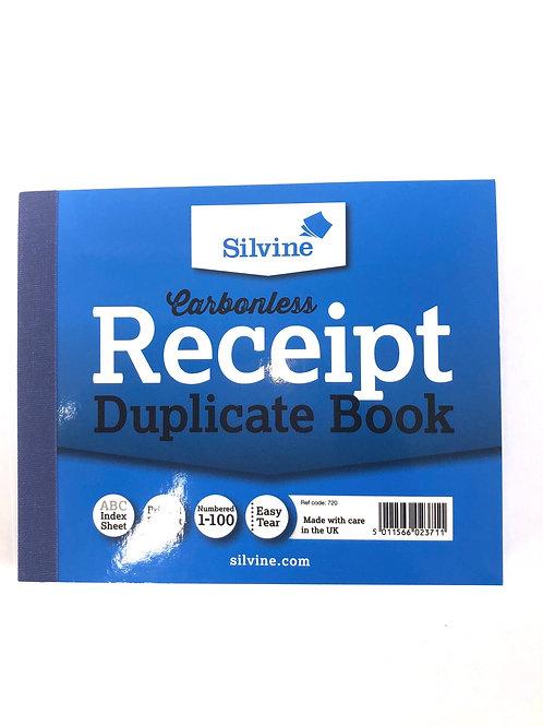 Receipt Book