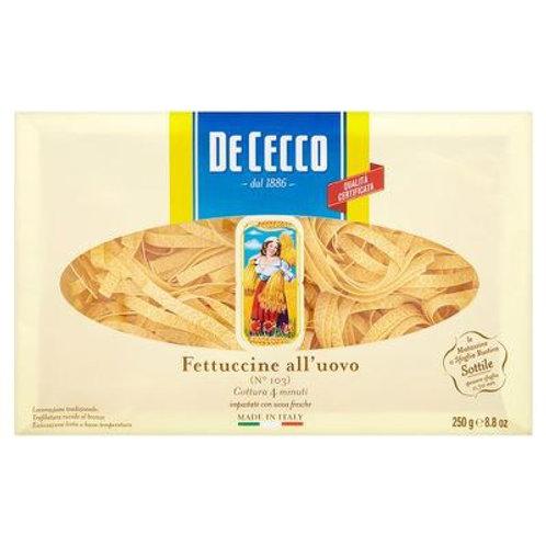 De Cecco Egg Pasta Fettucine 500gr
