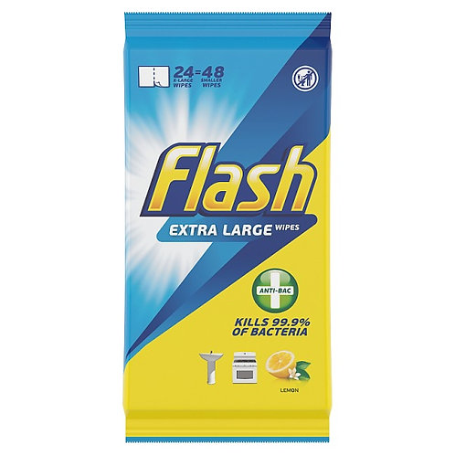 Flash Wipes Lemon