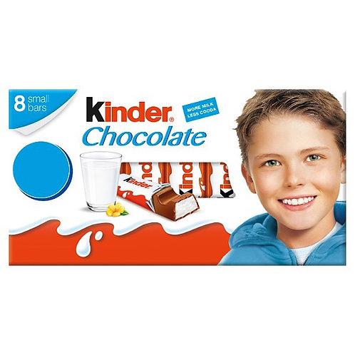 Kinder Chocolate 8 Small Bars