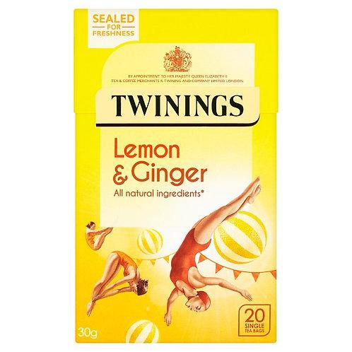 Twinings Herbal Lemon/Ginger