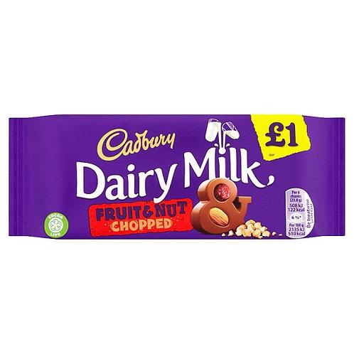 Cadbury Fruit & Nut Bar