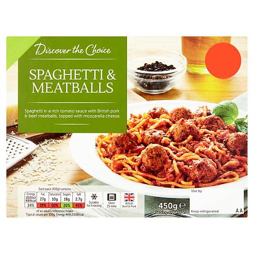 Discover The Choice Spag Meatballs
