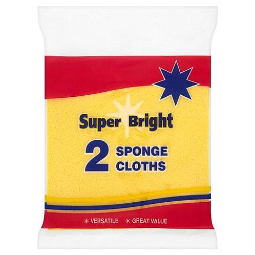 Superbright Sponge Cloths