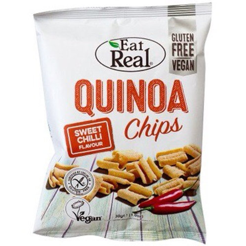 Eat Real Quinoa Chips Sweet Chilli 80g