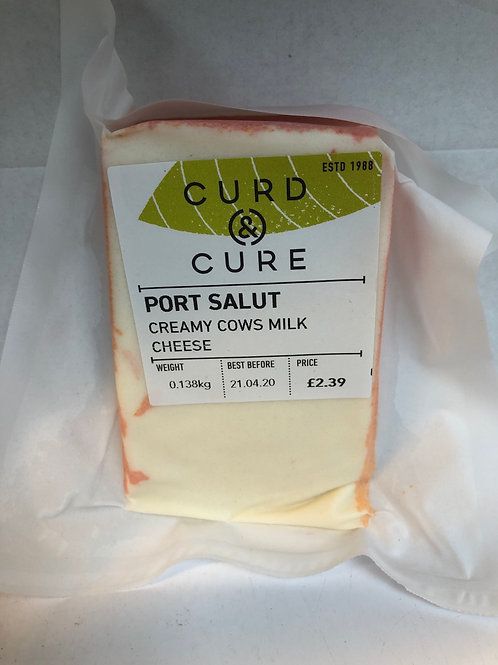 Port Salut Cheese, Curd and Cure