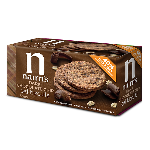 Nairns Chocolate Chip Cookies
