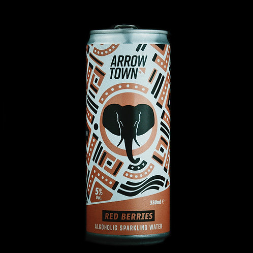 Arrow Town Red Berries Alcoholic Sparkling Water