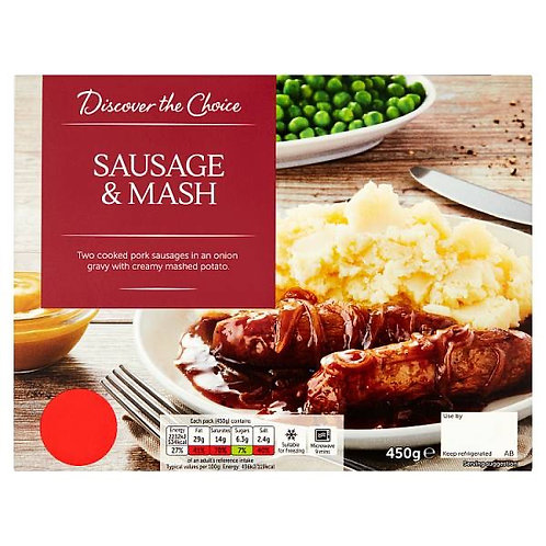 Discover The Choice Sausage & Mash