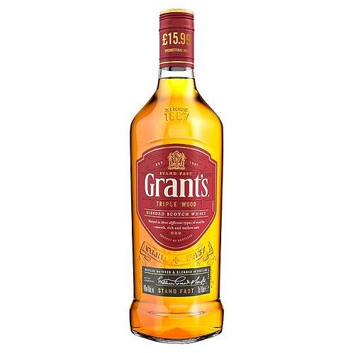 Grants  Triple Wood Blended Whisky 70cl