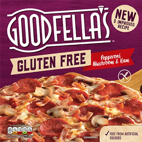 Goodfella's Pepperoni, Mushroom & Ham Gluten Free Pizza