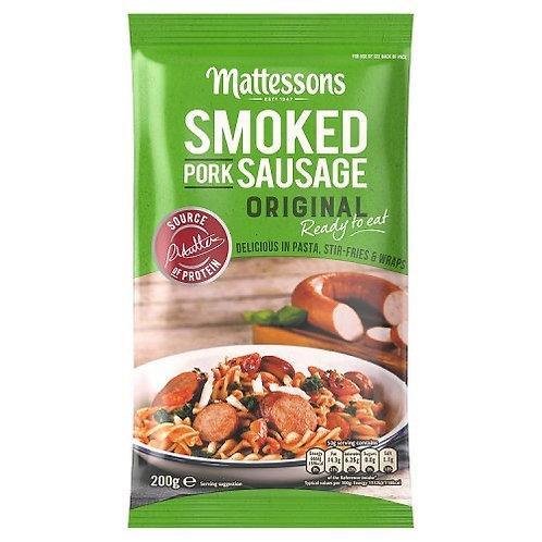 Mattessons Smoked Pork Sausage