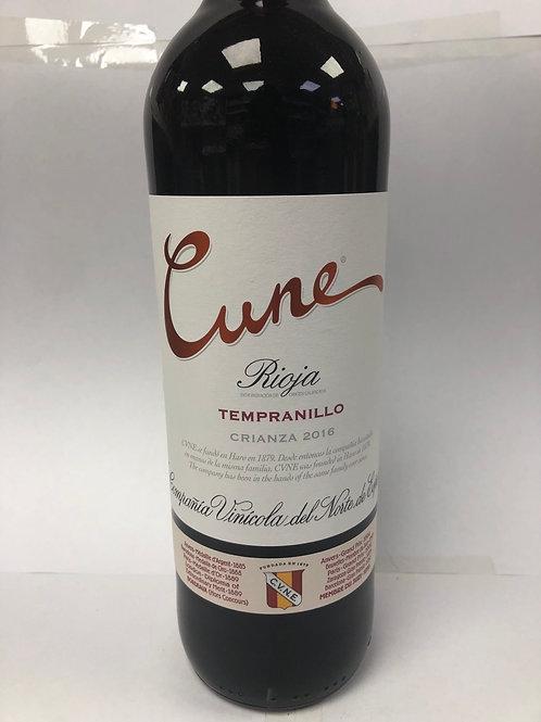 Cune Rioja Tempranillo  Crianza 2016