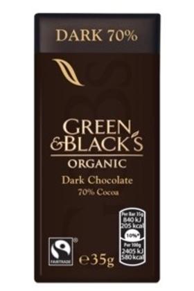 Green & Blacks Organic Dark Chocolate