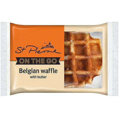 St. Pierre Belgium Waffle w/butter