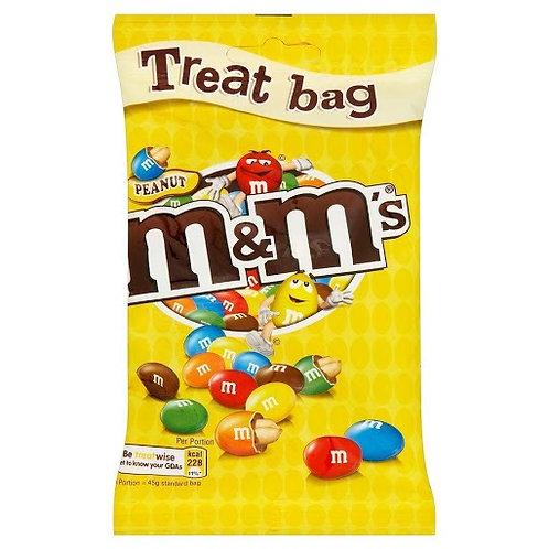 M&Ms Peanut Treat Bag