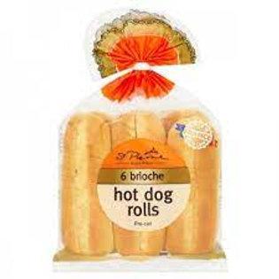 St. Pierre Hot Dog Rolls