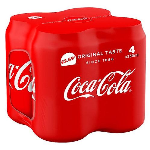 Coca Cola 4x330ml