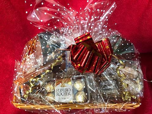 Christmas Gift Basket - Sweet Tooth